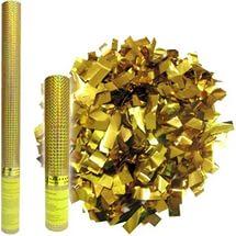 8260-Gold Пневмохлопушка (золото-60см)
