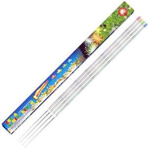 Бенгальские свечи «Цветопламенные»650мм (4шт)УПЗ