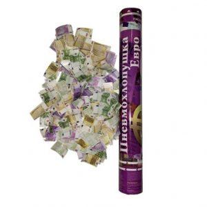 FMZRЕ40  Пневмохлопушка 40 см (Бумажные евро)