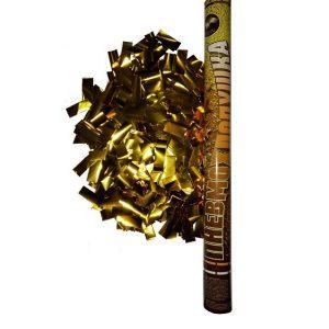 FMSP60G   Пневмохлопушка 60см(Золот. мет.конфетти)