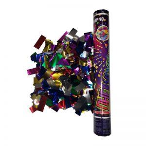 FMSP40 Пневмохлопушка 40 см(Цвет.метал.конфетти)